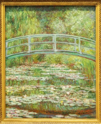 Bridge over a Pond of Water Lilies,1899