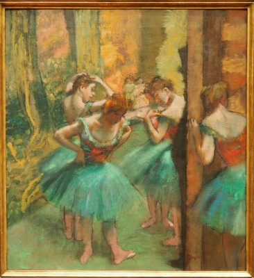 Dancers, Pink and Green,1890