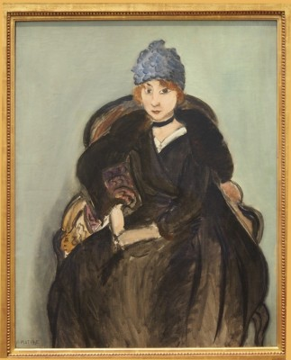 Marguerite Wearing a Hat,1915
