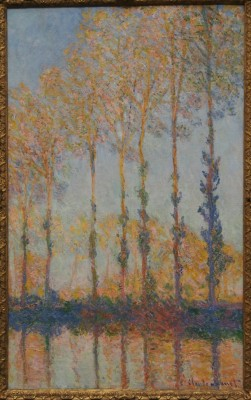 Monet Poplars on the Bank of the Epte River, 1891
