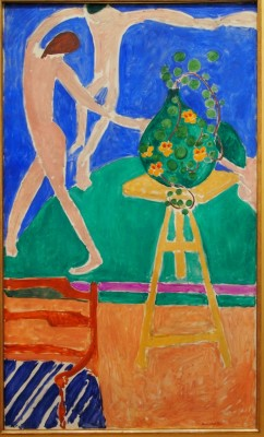 Nasturtiums with the Painting Dance I,1912