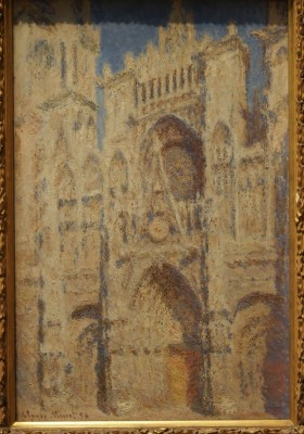Rouen Cathedral The Portal (Sunlight),1894