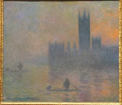 The Houses of Parliament (Effect of Fog)1903-4