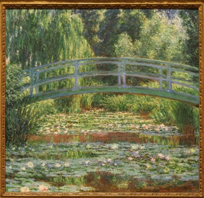The Japanese Footbridge and the Water Lily Pool, Giverny,1899