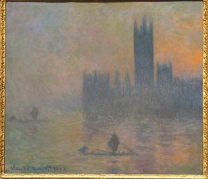 The-Houses-of-Parliament-Effect-of-Fog1903-4